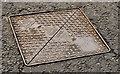 "J4681 : Cavanagh ""Brunel"" access cover, Crawfordsburn by Albert Bridge"