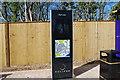 SU5704 : Fareham to Gosport BRT - Information pillar by Barry Shimmon