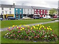 H2684 : Floral display, Castlederg by Kenneth  Allen