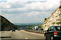 SU7396 : M40 Motorway Westbound Approaching Junction 6 by Roy Hughes