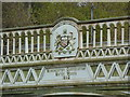 SD8002 : Aqueduct north side of Agecroft Bridge, Detail by Alexander P Kapp