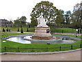 TQ2580 : Queen Victoria's statue in new landscaping, Kensington Gardens by David Hawgood