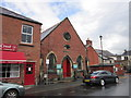 SJ2142 : The Memorial Hall on Market Street, Llangollen by Ian S