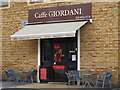 TQ2082 : Caffe Giordani, Minerva Road, NW10 by Mike Quinn