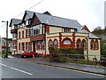ST1190 : Leigh Social Club, Senghenydd, viewed from the north by John Grayson