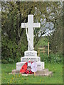 SE9670 : The War Memorial at Weaverthorpe : Week 18