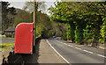 J4298 : Letter box, Magheramorne by Albert Bridge