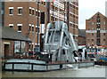 SO8218 : Gloucester Docks and Gloucester Waterways Museum by Chris Allen