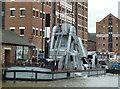SO8218 : Gloucester Docks and Gloucester Waterways Museum by Chris Allen