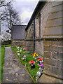 SD8017 : Memorial Garden, St John's Church by David Dixon