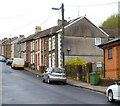 ST1190 : High Street houses north of the Salvation Army site, Senghenydd by John Grayson