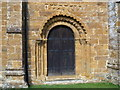 SP3145 : Norman doorway by Michael Dibb