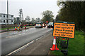 SK4935 : Temporary traffic lights on Toton Lane by David Lally