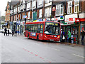 TQ3161 : Purley:  Bus on Route 407 by Dr Neil Clifton