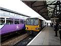 SK5879 : Worksop railway station  by Graham Hogg