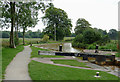 SJ8156 : Trent and Mersey Canal by Church Lawton, Cheshire by Roger  Kidd