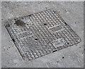 J4981 : Manhole cover, Bangor by Rossographer