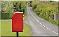 J5261 : Letter box, Whiterock, Killinchy by Albert Bridge