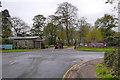 SJ7482 : Tatton Park, Rostherne Lodge Entrance by David Dixon