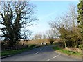 TM3067 : Road junction west of Badingham, Suffolk by nick macneill