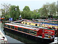 TQ2681 : Narrowboat-Longmead in Little Venice by PAUL FARMER