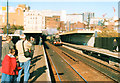 SP0786 : Moor Street Station, King James I Passing Through 2002 by Roy Hughes