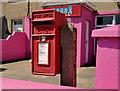J6356 : Letter box, Cloughey by Albert Bridge