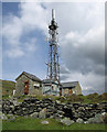 SH6217 : Communications mast by Dave Croker