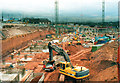 SP0786 : Bull Ring Shopping Centre Under Construction April 2001 (4) by Roy Hughes