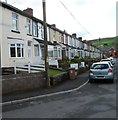 ST1289 : SW side of Aberfawr Terrace, Abertridwr  by John Grayson
