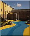 SX9064 : Garden area, Torre Marine : Week 18