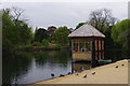 TQ3373 : Dulwich Park Lake by Ian Taylor