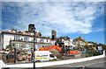 SW8031 : Demolition works in progress at the Falmouth Beach Hotel : Week 19