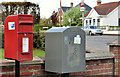 J0254 : Letter box and drop box, Portadown by Albert Bridge