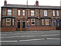 SJ7688 : 100 to 96 Manchester Road, Altrincham by Steven Haslington