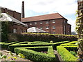 TQ7569 : Knot Garden, Chatham Historic Dockyard by David Anstiss