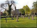 SD6602 : Atherton Cemetery, Non-Conformist Chapel by David Dixon