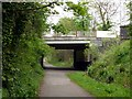 SJ8693 : Slade Lane Bridge by Graham Hogg