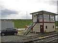 NY7606 : Signal box, Kirkby Stephen by Pauline Eccles