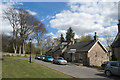 NJ8826 : The Square, Udny Green (south side) by Bill Harrison