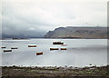 NG4843 : Portree Harbour by Nigel Brown