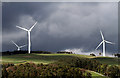 NT4740 : Wind turbines at Halkburn by Walter Baxter