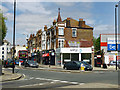TQ2279 : King's Parade, Askew Road, W12 by Robin Webster