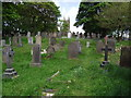SD7114 : Graveyard in Egerton near Bolton by Phil Platt