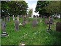 SD7114 : Graveyard in Egerton near Bolton by Philip Platt