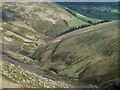 SK1187 : View down Grindsbrook Clough by Andrew Hill