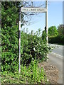 TL4352 : Old Pre-Worboys Sign by Keith Evans