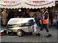 SP0786 : Street sweeper, Edgbaston Street by Robin Stott
