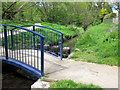 SP0383 : Bourn Brook Footbridge by Roy Hughes
