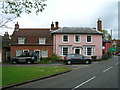 TM0634 : Houses on The Street, East Bergholt by JThomas